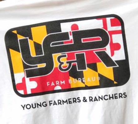 YOUNG FARMERS ARE MARYLAND'S FUTURE