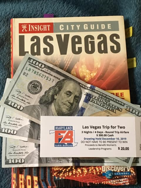 Raffle Tickets Available for Las Vegas